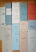 LOTTO DI 7 PUBBLICAZIONI SCIENTIFICHE SU GEOLOGIA MINERALOGIA MINIERE ITALIANE