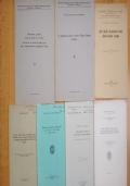 LOTTO DI 6 PUBBLICAZIONI SCIENTIFICHE SU GEOLOGIA MINERALOGIA MINIERE TENTINO ALTO ADIGE