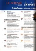 IL MEDIOEVO. Scienza e magia nei secoli bui (LE SCIENZE dossier n. 16 - Estate 2003) - [COME NUOVO]