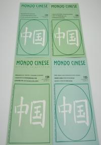 Mondo cinese. Annata 2002 mancante numero 110 - Rivista trimestrale dell'istituto Italo Cinese per gli scambi economici e culturali.