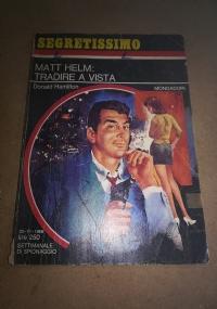Matt Helm: tradire a vista     Segretissimo 312