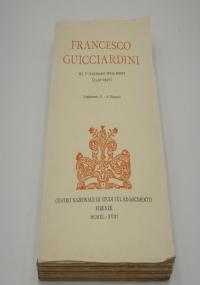 FRANCESCO GUICCIARDINI NEL IV CENTENARIO DELLA MORTE (1540-1940)