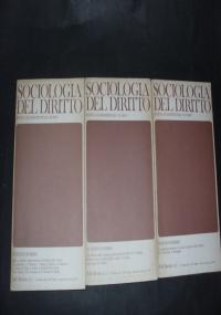 sociologia del diritto VIII /1981 / 1