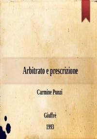 Arbitrato e prescrizione