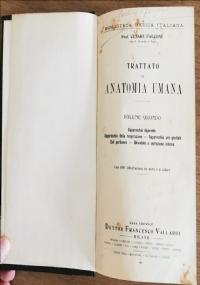 Trattato di anatomia umana volume secondo