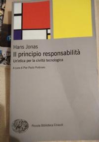 Il principio di responsabilit�. Un etica per una civilt� civile