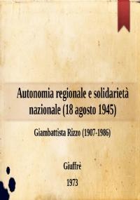 Liberalismo e problemi siciliani (13 gennaio 1946)