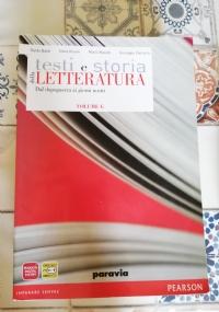 Testi e storia della LETTERATURA VOLUME F - Il primo Novecento e il periodo tra le due guerre