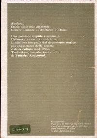 Storia delle mie disgrazie Lettere d'amore di Abelardo e Eloisa