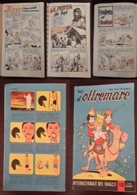 """""""LA VEDETTA"""", Albo rivista per ragazzi, n° 4, 5, 6, 8, 1956 - 1957."""