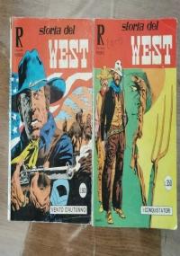 Lotto 2 fumetti Storia del west