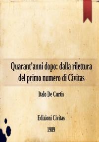 Civitas : rivista bimensile di studi politici fondata nel 1919 da Filippo Meda. Anno XL Numero 2 1989