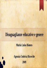 Disuguaglianze educative e genere