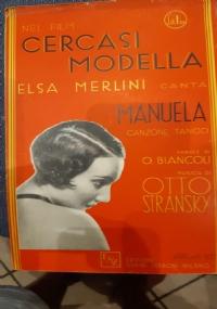 MANUELA(RARO SPARTITO MUSICALE)