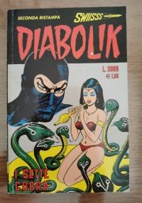 Lotto 3 fumetti Diabolik, il giallo a fumetti
