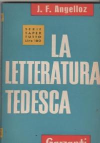 LA LETTERATURA TEDESCA DALLE ORIGINI A OGGI