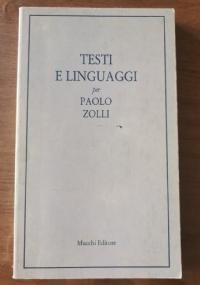 Testi e linguaggi per Paolo Zolli