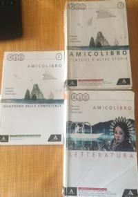 AMICO LIBRO 2 + LETTERATURA + QUADERNO DELLE COMPETENZE