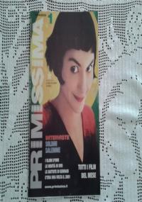 PRIMISSIMA Rivista di  Cinema  4 aprile 1999