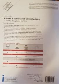 SCIENZA E CULTURA DELL'ALIMENTAZIONE + QUADERNO DELLE COMPETENZE- ACCOGLIENZA TURISTICA