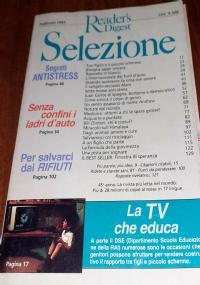 Selezione Dal Reader's Digest - Novembre 1992