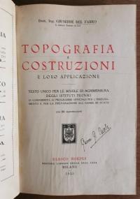 Topografia e costruzioni e loro applicazione
