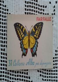 FIORI COLLANA ALBA PER DIPINGERE N° 24 ALBETTO DA COLORARE.