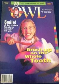 owl rivista in inglese ecologia per bambini dicembre 1996
