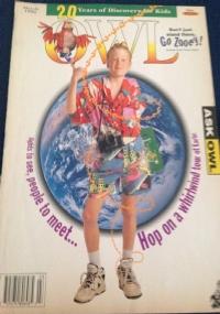 owl rivista in inglese ecologia per bambini novembre 1994
