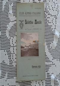 CLUB ALPINO ITALIANO Bollettino Mensile della sezione di Bergamo   Febbraio 1921