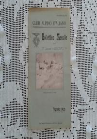 CLUB ALPINO ITALIANO Bollettino Mensile della sezione di Bergamo   Settembre 1921