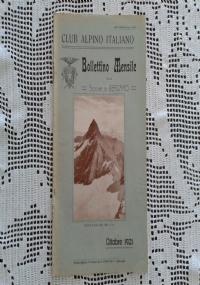 CLUB ALPINO ITALIANO Bollettino Mensile della sezione di Bergamo   Dicembre 1921