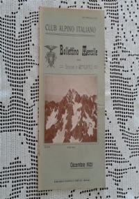 CLUB ALPINO ITALIANO Bollettino Mensile della sezione di Bergamo   Gennaio 1922