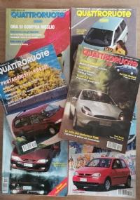 Rivista Quattroruote annata 1998 4 volumi
