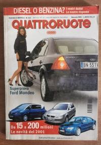 Rivista Quattroruote n.406 annata 1989