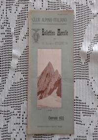 CLUB ALPINO ITALIANO Bollettino Mensile della sezione di Bergamo   Febbraio 1922