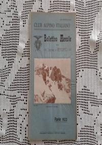 CLUB ALPINO ITALIANO Bollettino Mensile della sezione di Bergamo   Maggio 1922