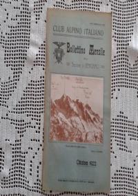 CLUB ALPINO ITALIANO Bollettino Mensile della sezione di Bergamo  Novembre 1922