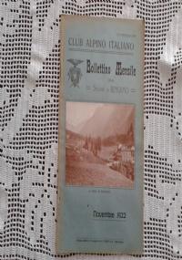 CLUB ALPINO ITALIANO LE ALPI OROBICHE Bollettino Mensile della sezione di Bergamo   Gennaio 1924