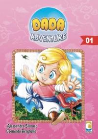 DADA ADVENTURE volume 1 variant cover