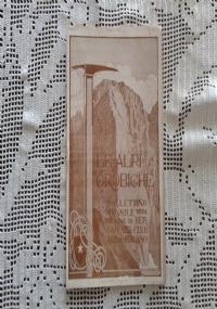 CLUB ALPINO ITALIANO LE ALPI OROBICHE Bollettino Mensile della sezione di Bergamo   Marzo 1925