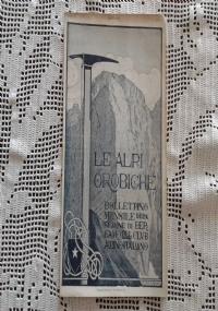 CLUB ALPINO ITALIANO LE ALPI OROBICHE Bollettino Mensile della sezione di Bergamo   Aprile 1925