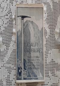 CLUB ALPINO ITALIANO LE ALPI OROBICHE Bollettino Mensile della sezione di Bergamo   Giugno 1925