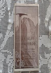 CLUB ALPINO ITALIANO LE ALPI OROBICHE Bollettino Mensile della sezione di Bergamo   Luglio 1925
