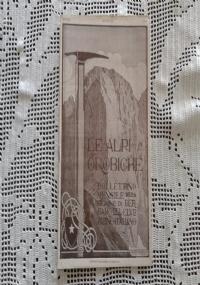 CLUB ALPINO ITALIANO LE ALPI OROBICHE Bollettino Mensile della sezione di Bergamo   Settembre 1925