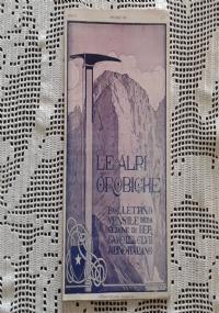 CLUB ALPINO ITALIANO LE ALPI OROBICHE Bollettino Mensile della sezione di Bergamo   Dicembre 1925