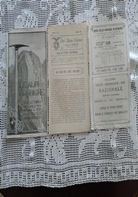 CLUB ALPINO ITALIANO LE ALPI OROBICHE Bollettino Mensile della sezione di Bergamo   Gennaio 1926