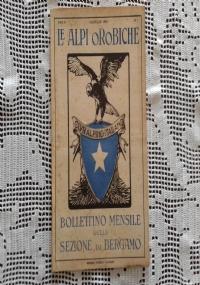 CLUB ALPINO ITALIANO LE ALPI OROBICHE Bollettino Mensile della sezione di Bergamo   Febbraio 1926