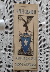 CLUB ALPINO ITALIANO LE ALPI OROBICHE Bollettino Mensile della sezione di Bergamo   Marzo 1926