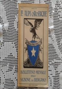 CLUB ALPINO ITALIANO LE ALPI OROBICHE Bollettino Mensile della sezione di Bergamo   Maggio 1926